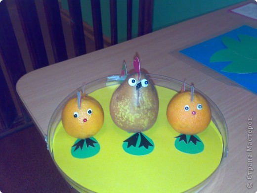 Поделка изделие поделки из овощей Овощи фрукты ягоды фото 2