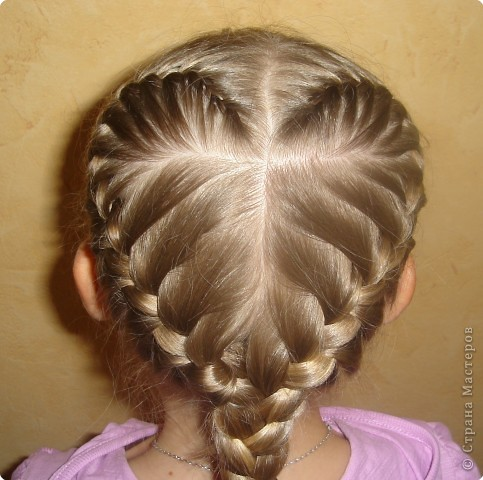 Картинки косичек на длинные волосы - 61