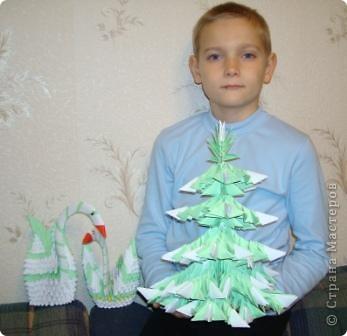 Оригами модульное: Наши поделки