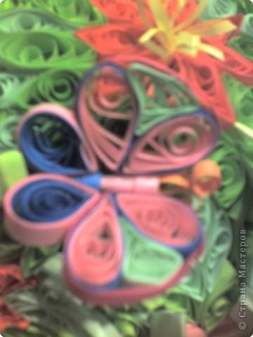 """""""Цветочки"""" Сыроежки вдохновили на вот такое деревце. Делали всей семьей фото 2"""