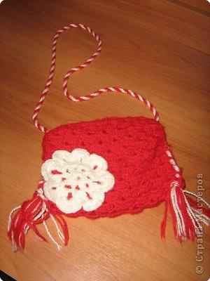 Вязание: Сумочка.