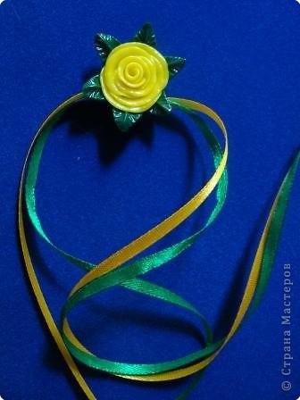 Лепка: Цветы из пластики фото 1