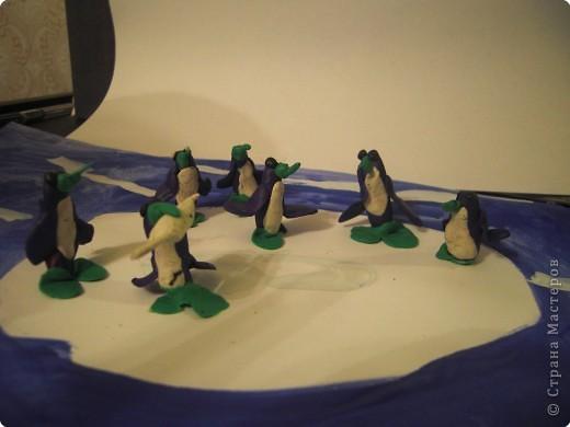 Лепка: Пингвины