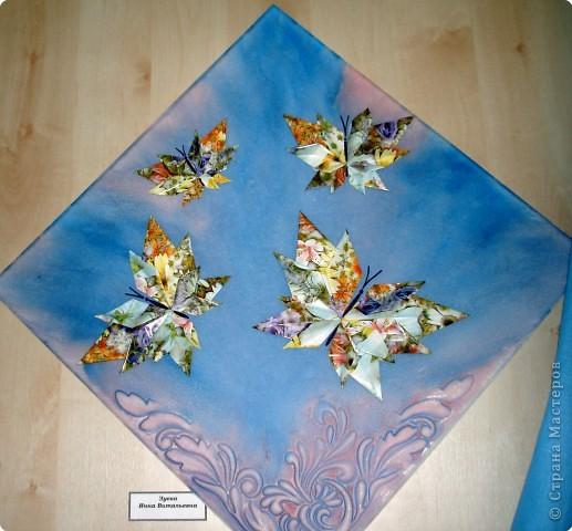 Ну вот и свершилось! За окнами - снег, а у нас в детском саду всеми цветами радуги переливаются крылья бабочек!  фото 17