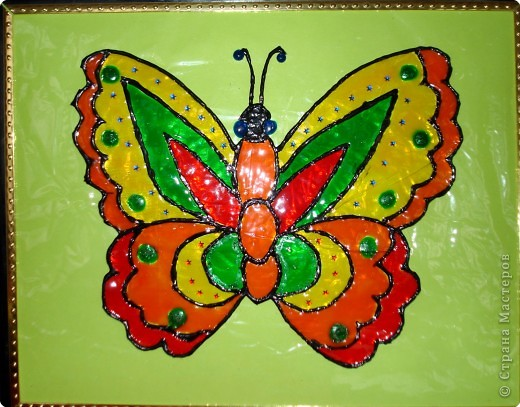 Ну вот и свершилось! За окнами - снег, а у нас в детском саду всеми цветами радуги переливаются крылья бабочек!  фото 20