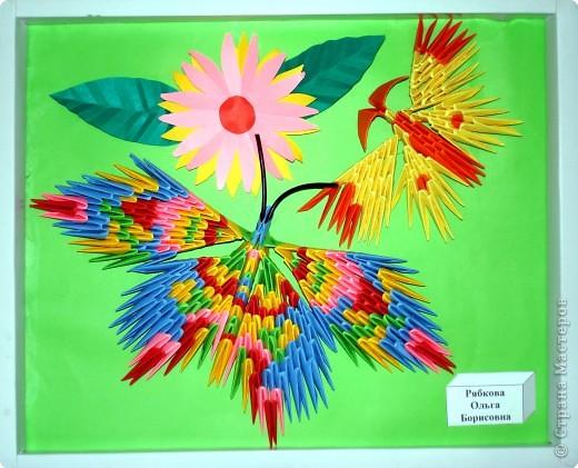 Ну вот и свершилось! За окнами - снег, а у нас в детском саду всеми цветами радуги переливаются крылья бабочек!  фото 16
