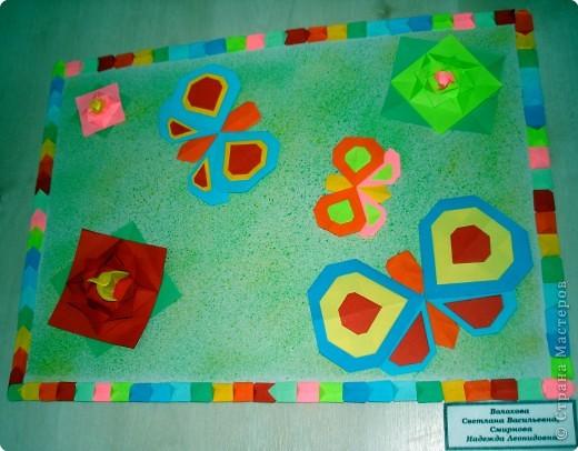 Ну вот и свершилось! За окнами - снег, а у нас в детском саду всеми цветами радуги переливаются крылья бабочек!  фото 28