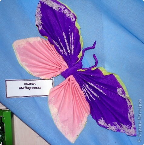 Ну вот и свершилось! За окнами - снег, а у нас в детском саду всеми цветами радуги переливаются крылья бабочек!  фото 32