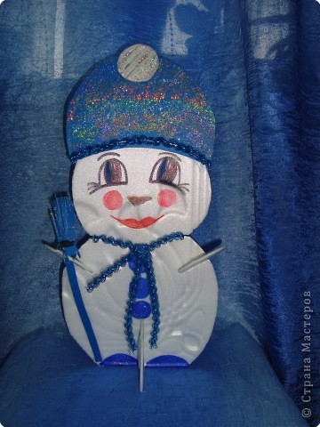 Снеговичок уже в пути...