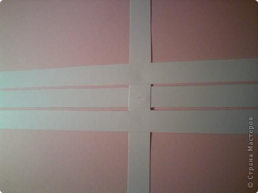 Звезда получается объёмной. В моём вареанте с одной стороны белая, с другой стороны  розовая. фото 2