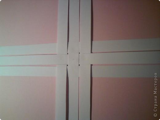 Звезда получается объёмной. В моём вареанте с одной стороны белая, с другой стороны  розовая. фото 3