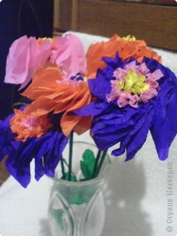 Оригами: Маленький букетик фото 4
