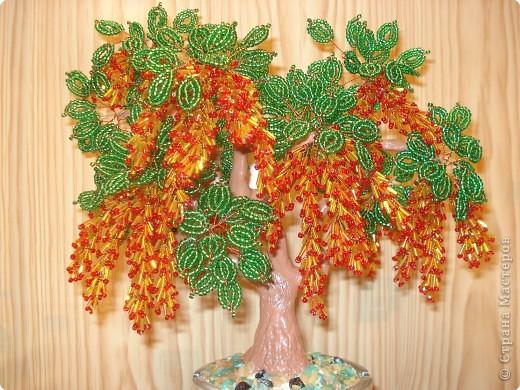 Бисероплетение - Деревья-32 из бисера.