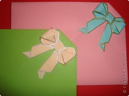Оригами: конверты фото 2