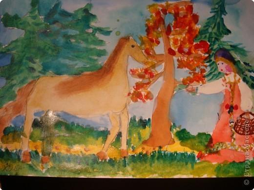 Рисование и живопись: сказочный сюжет