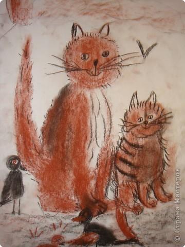 Рисование и живопись: кошечки