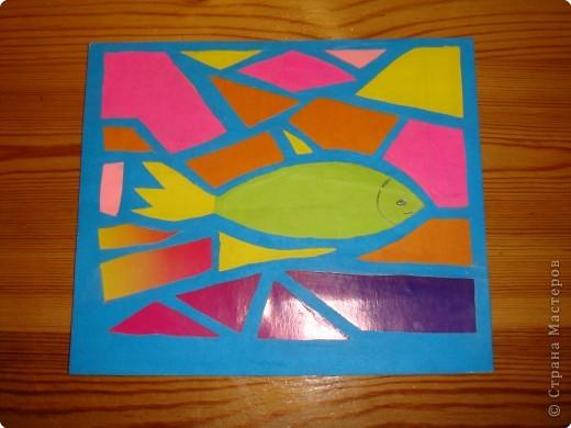 Витраж: рыбка