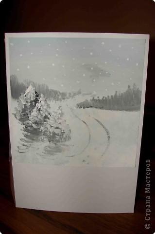 """Хочу показать одну из дочкиных работ. Работа была выполнена для школьной выставки """"Времена года"""".   Книжка-раскладушка """"12 месяцев"""".( Тогда дочке  было 15 лет) фото 4"""