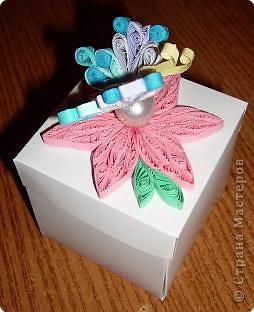 Это крышка коробочки, в которую можно положить подарок. фото 5