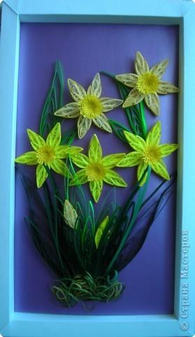 Посмотрела и мне тоже захотелось сделать эти весенние цветы