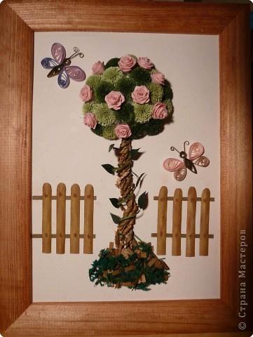 "Квиллинг: ""Дерево счастья-2"""