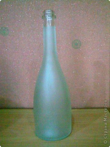 Бутылка превращается...превращается...в.... фото 1