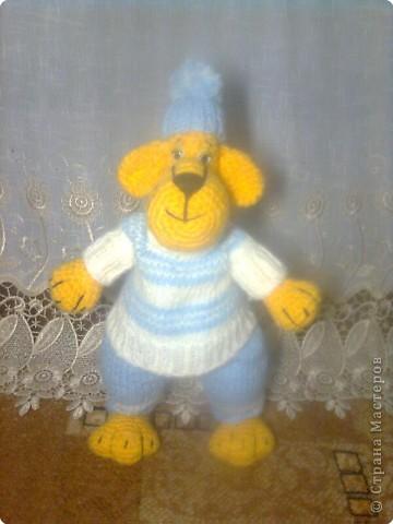 Вязание крючком, Вязание спицами: Тигр фото 1
