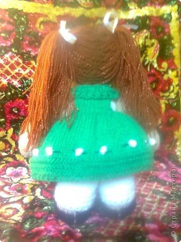 Вязание спицами: Кукла в подарок фото 2