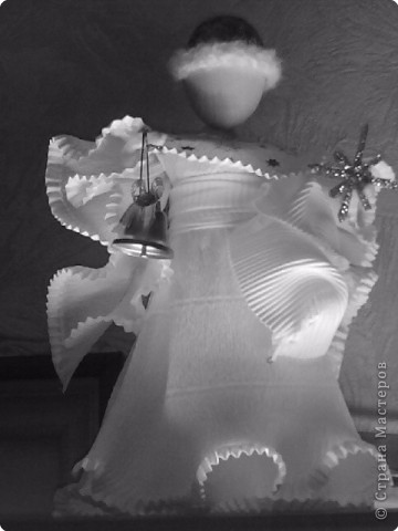 этот ангел из креповой бумаги фото 2