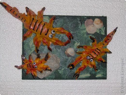 Лепка: Скорпионы фото 1