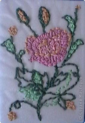 Вышивание салфетками фото 2