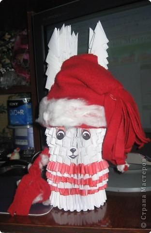 шапка, руки и мешок из ткани фото 1