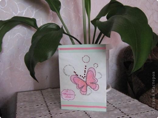 Аппликация: Бабочки фото 1