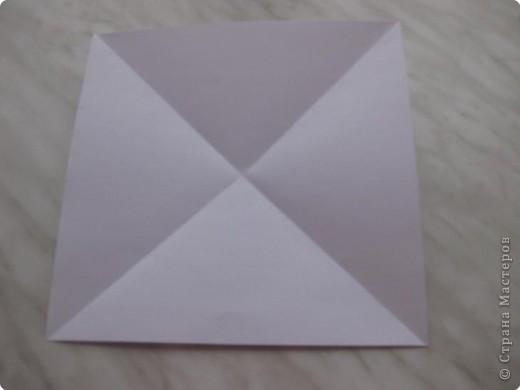 Нужно взять лис бумаги квадратной формы.В дужках я буду писать сказку (жил бедный селянин, был у него большой участок земли) фото 2