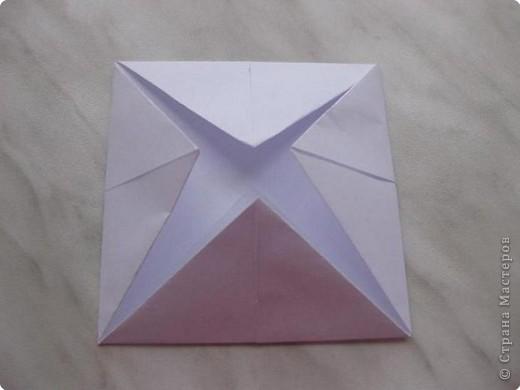 Нужно взять лис бумаги квадратной формы.В дужках я буду писать сказку (жил бедный селянин, был у него большой участок земли) фото 6