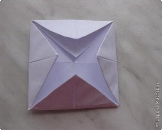 Нужно взять лис бумаги квадратной формы.В дужках я буду писать сказку (жил бедный селянин, был у него большой участок земли) фото 8