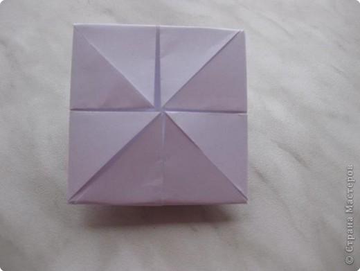 Нужно взять лис бумаги квадратной формы.В дужках я буду писать сказку (жил бедный селянин, был у него большой участок земли) фото 9