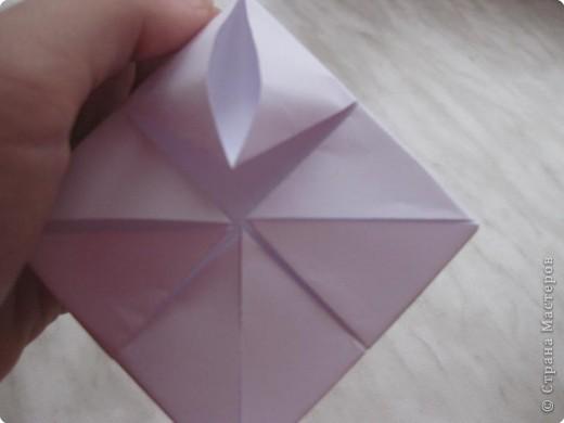 Нужно взять лис бумаги квадратной формы.В дужках я буду писать сказку (жил бедный селянин, был у него большой участок земли) фото 10