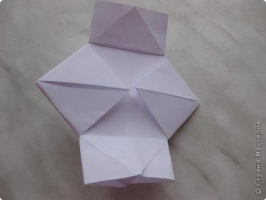 Нужно взять лис бумаги квадратной формы.В дужках я буду писать сказку (жил бедный селянин, был у него большой участок земли) фото 12