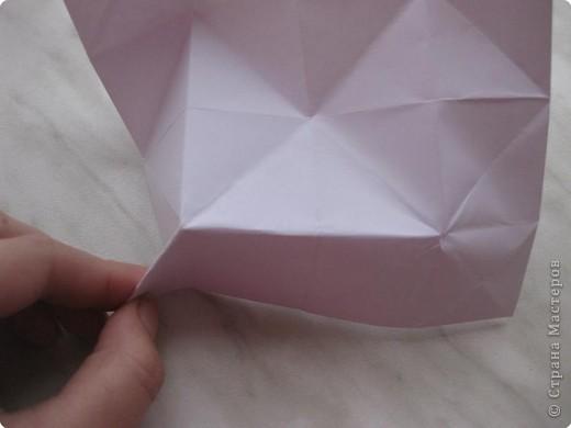 Нужно взять лис бумаги квадратной формы.В дужках я буду писать сказку (жил бедный селянин, был у него большой участок земли) фото 23
