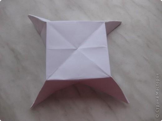 Нужно взять лис бумаги квадратной формы.В дужках я буду писать сказку (жил бедный селянин, был у него большой участок земли) фото 24