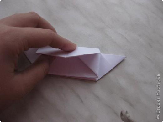 Нужно взять лис бумаги квадратной формы.В дужках я буду писать сказку (жил бедный селянин, был у него большой участок земли) фото 31