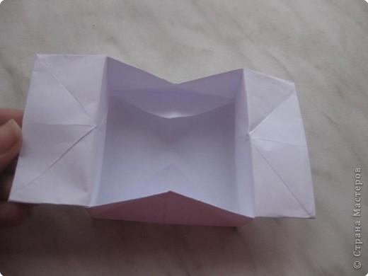 Нужно взять лис бумаги квадратной формы.В дужках я буду писать сказку (жил бедный селянин, был у него большой участок земли) фото 33