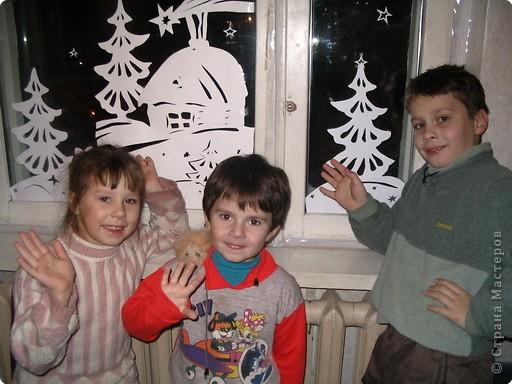 Так мы оформляли окошко в детской несколько лет назад.  фото 4