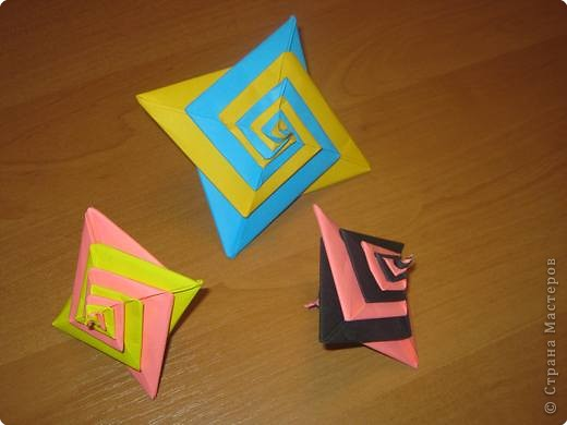 Мастер-класс Оригами Спиральки