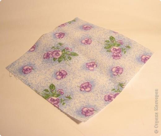Квадрат ткани 15x15 см фото 1
