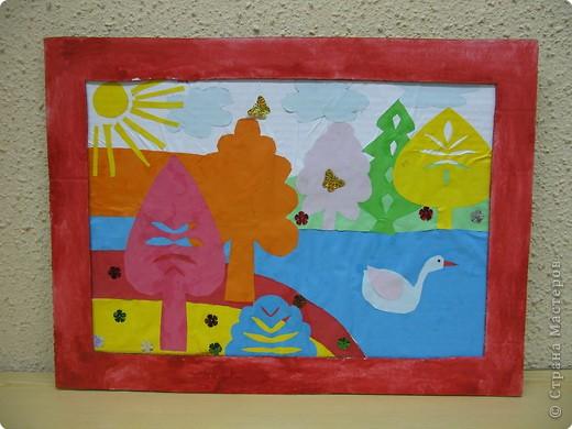 Работа моей ученицы - Челядиновой Полины (6 лет)