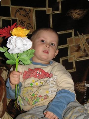 Нарядные георгины, изысканные розы,  и многие другие цветы можно сделать своими руками из ткани!!! фото 7