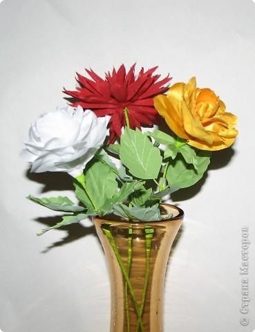 Нарядные георгины, изысканные розы,  и многие другие цветы можно сделать своими руками из ткани!!! фото 2