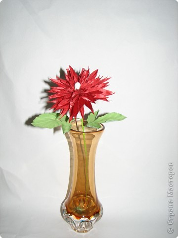 Нарядные георгины, изысканные розы,  и многие другие цветы можно сделать своими руками из ткани!!! фото 6